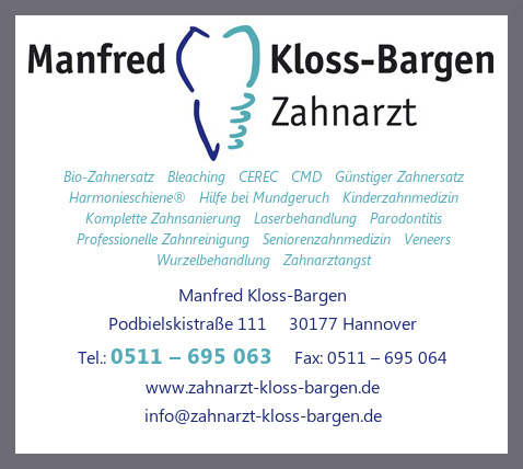 Kloss-Bargen, Manfred