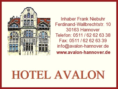 Avalon Inh. Frank Niebuhr Bed & Breakfast