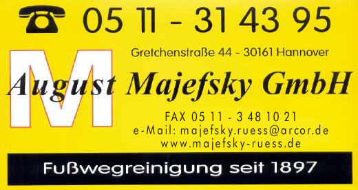 Majefsky GmbH, August
