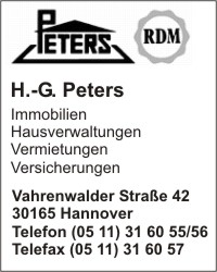 Peters Inh. I. Peters, H.-G.