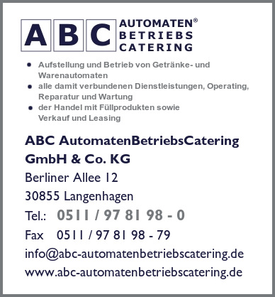 ABC AutomatenBetriebsCatering GmbH & Co. KG