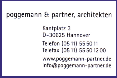 Poggemann & Partner, Architekten