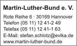Martin-Luther-Bund e. V.